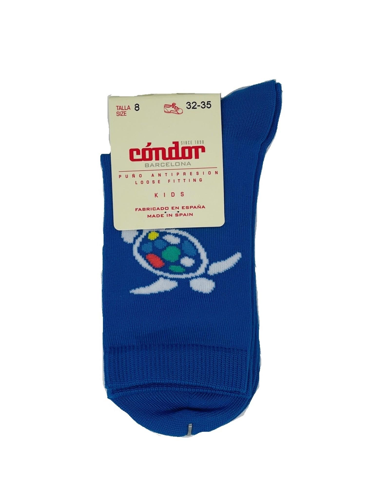 Condor Condor Boys Turtle Print Sock