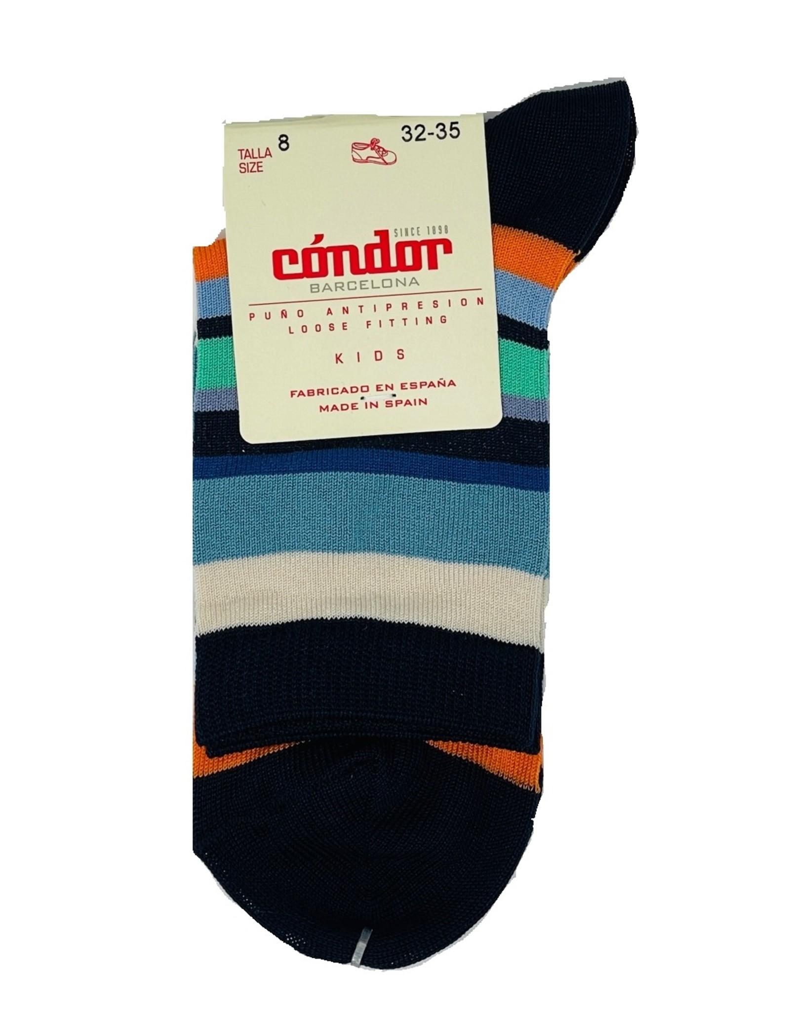 Condor Condor Boys Multicolor Stripe Sock