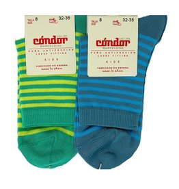 Condor Condor Boys Striped Sock