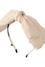Cherie Cherie Crinkle Double Layer Bow Headband