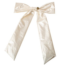 Cherie Cherie Light Leather Bow Clip