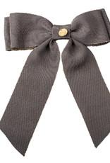 Cherie Cherie Metallic Grosgrain Double Looped Bow Clip