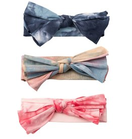Cherie Cherie TieDye Layered Bow Baby Band