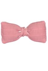 Dacee Dacee Wide Ribbed Puffy Bow Snap Clip