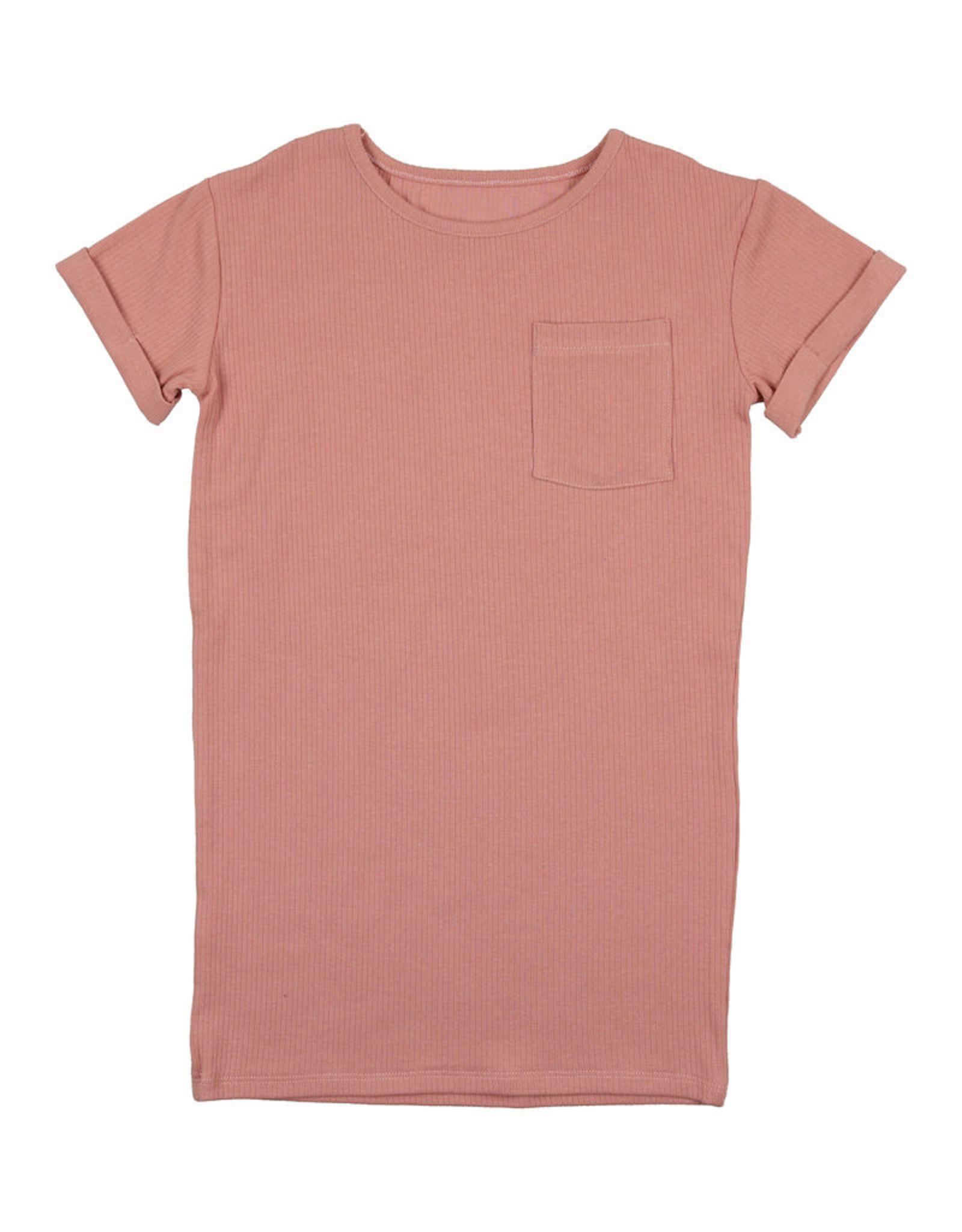Pouf Pouf Ribbed T-Dress