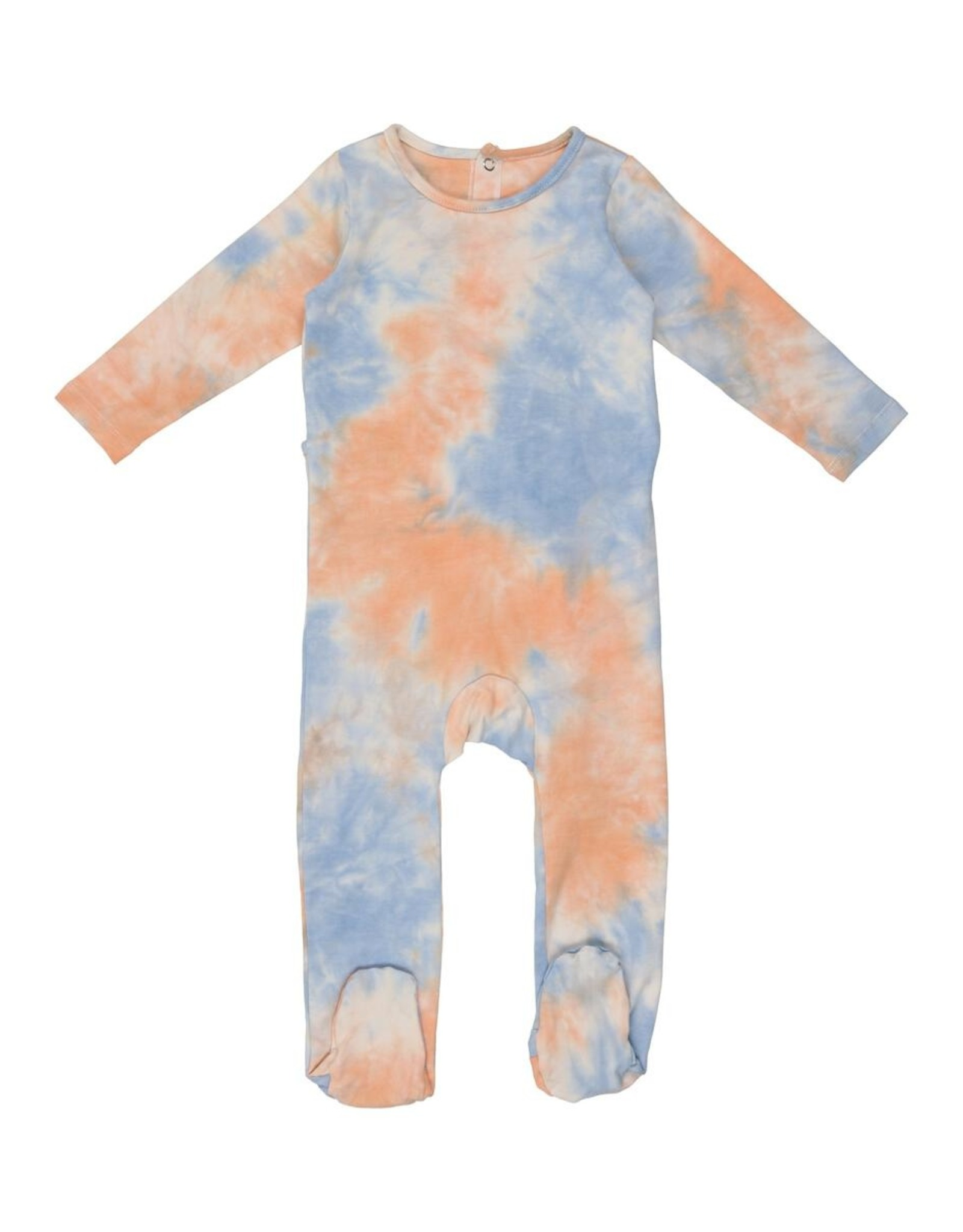 Pouf Pouf TieDye Footie Pajama