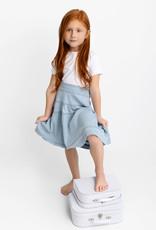 FIVE STAR Five Star Tiered Denim Skirt