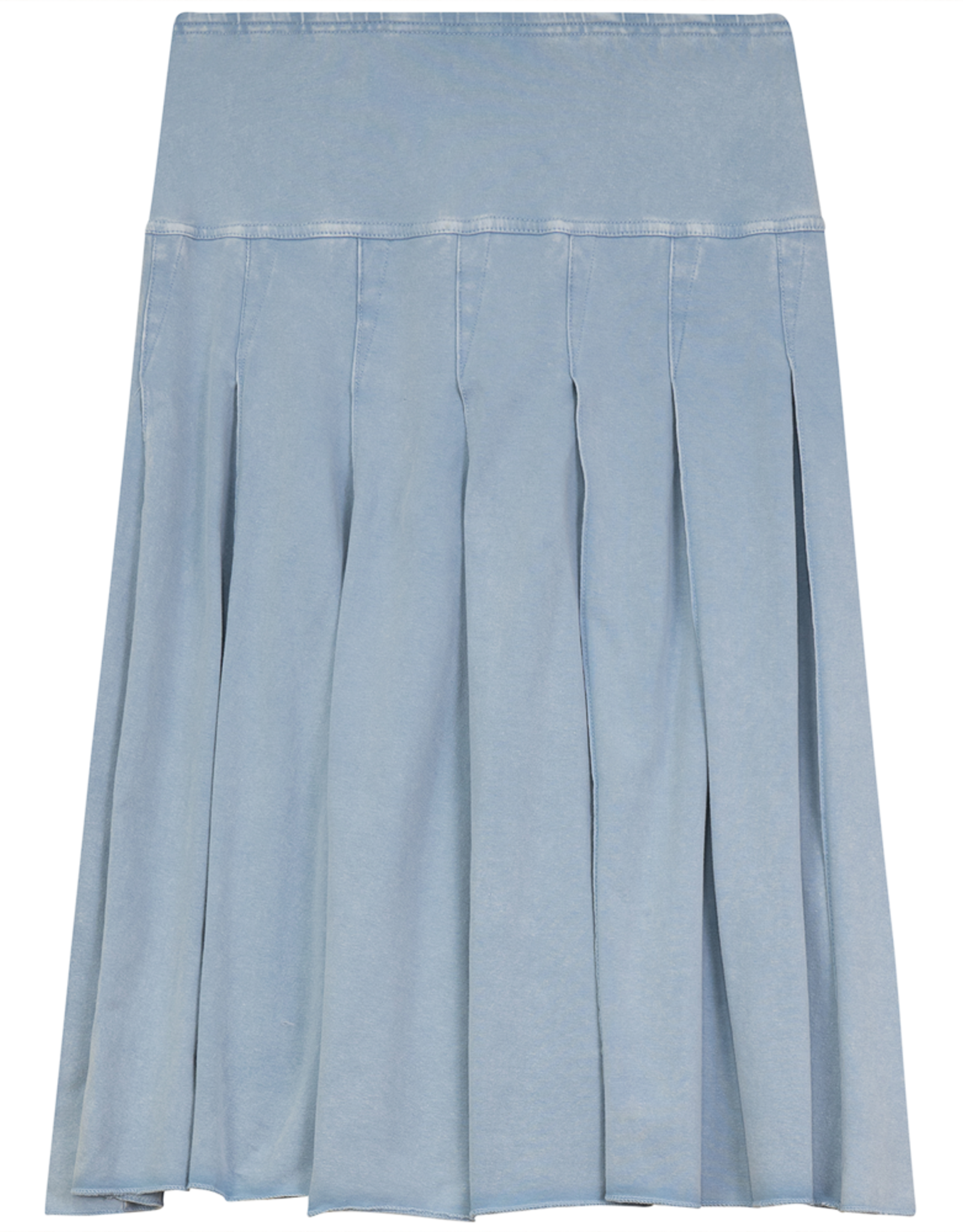 FIVE STAR Five Star Pleated Cotton Skirt