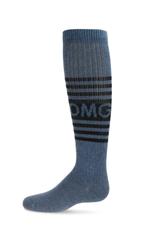 Memoi Memoi OMG Denim Knee Socks