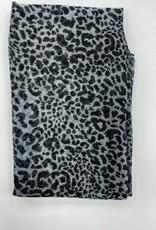 Revaz Revaz Small Leopard Print Pre-Tied Headscarf