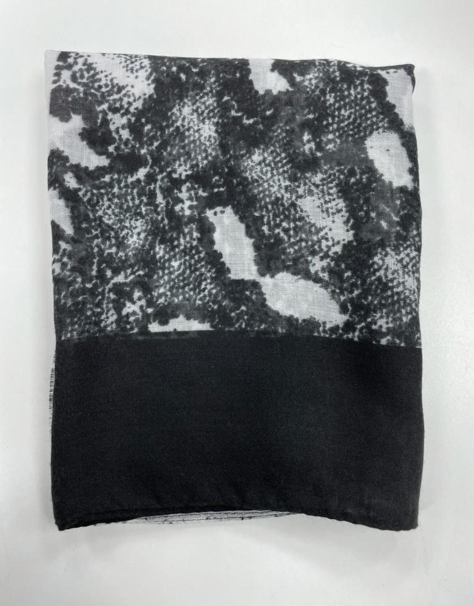 Revaz Revaz Snakeskin TieDye Pre-Tied Headscarf