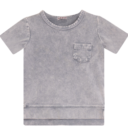 FIVE STAR Five Star Washed T-Shirt with Side Cuts