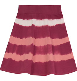 FIVE STAR Five Star TieDye Aline Skirt with Rib Trim