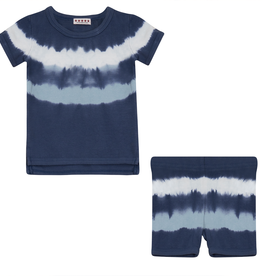 FIVE STAR Five Star TieDye Baby Set with Rib Trim