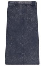 FIVE STAR Five Star Long Straight Denim Wash Skirt