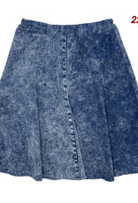 Tikie Sport Tikie Sport Distressed Circle Skirt with Elastic WaistBand