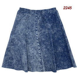 Tikie Sport Tikie Sport Distressed Circle Skirt with Elastic WaistBand