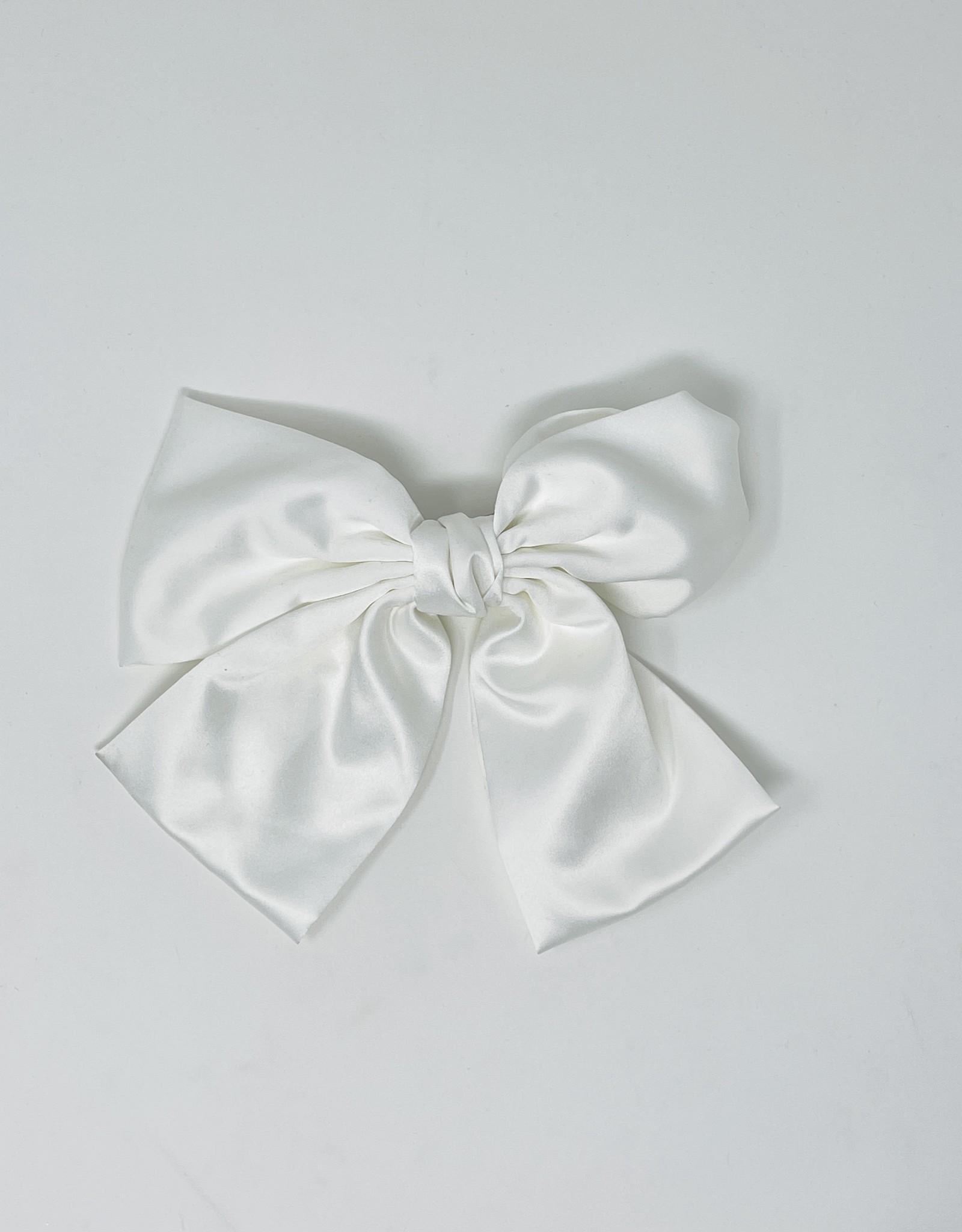 Dacee Dacee Silk Bow Clip
