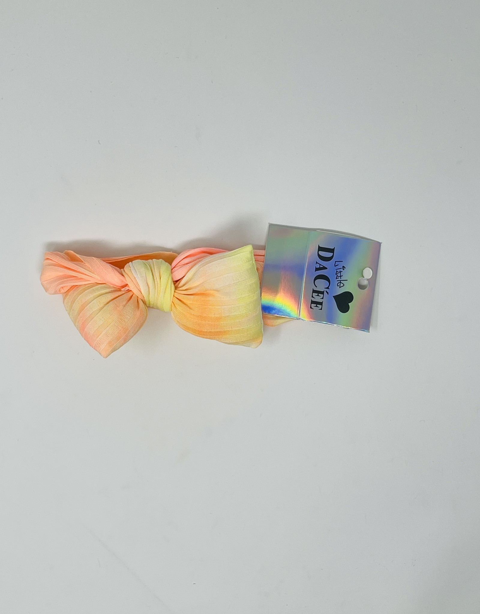 Dacee Dacee TieDye Puffy Bow Baby Headband