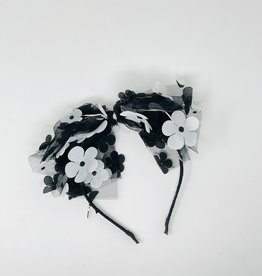 Dacee Dacee Scattered Flowers Bow Headband
