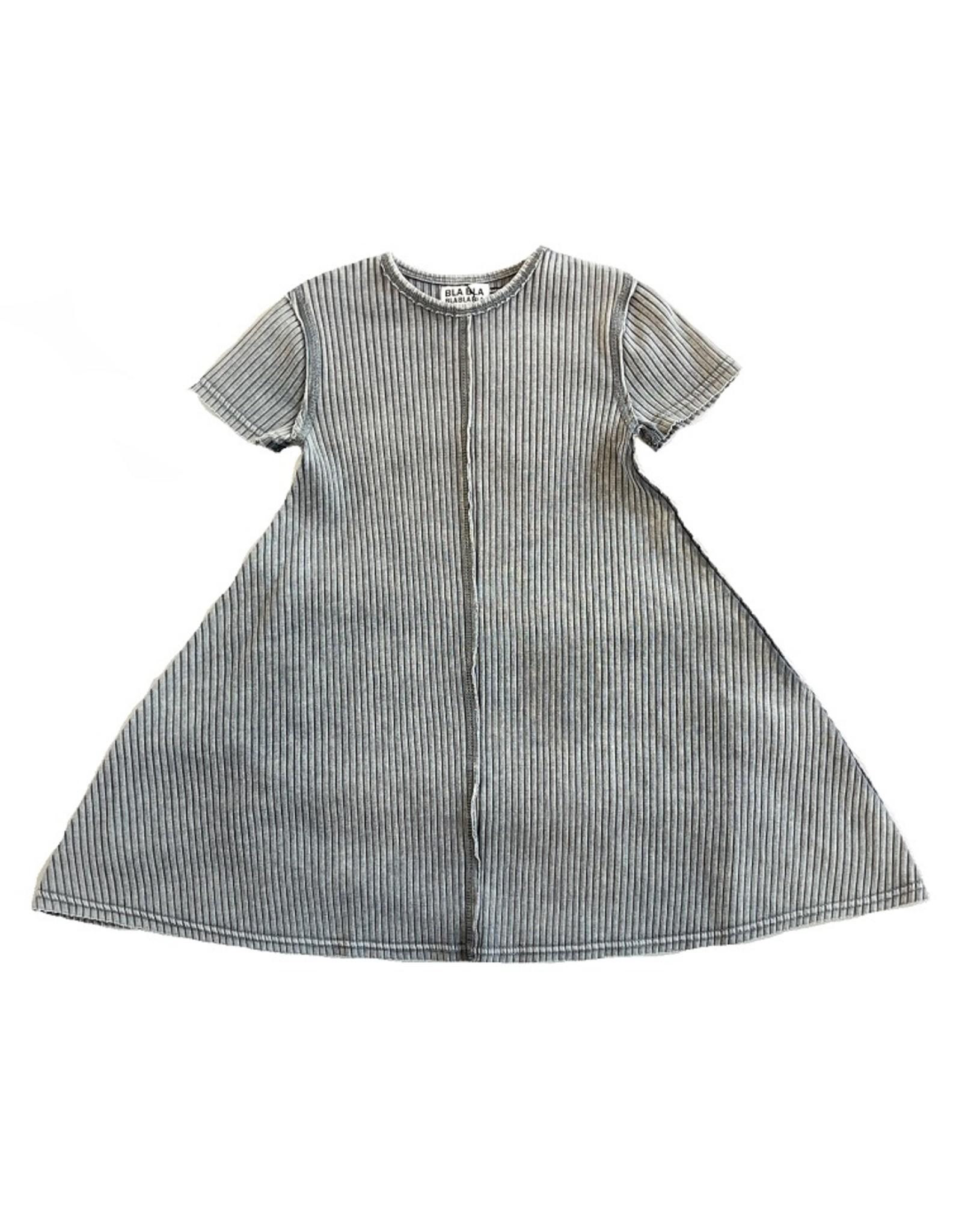 BLA BLA BLA BLA Ribbed Aline Dress