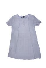 2 Squares 2 Squares Wide Ribbed Inside Out Seam Aline Dress