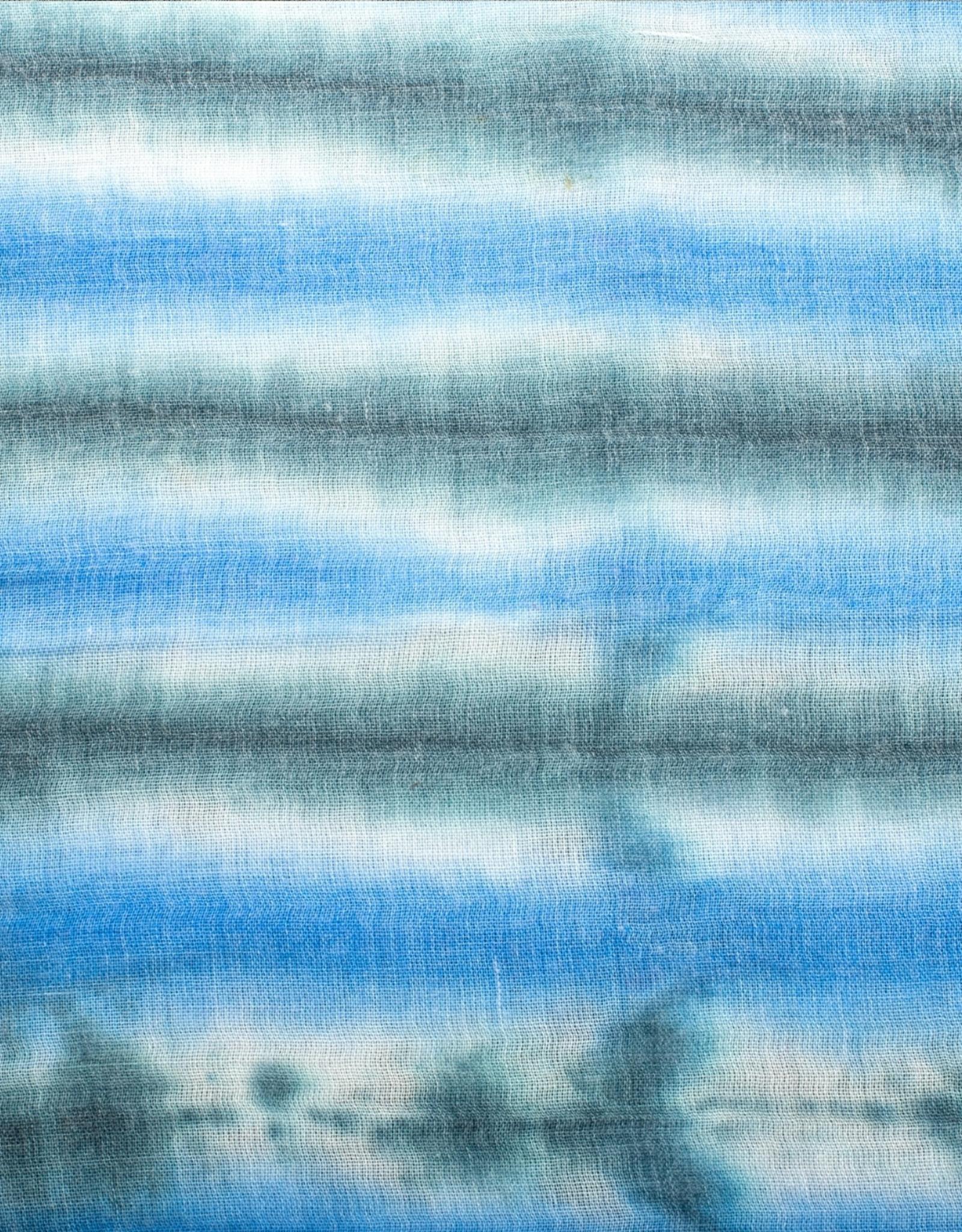 Cherie Cherie TieDye Stripe Print Scarf (Flat Square)