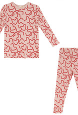 LUX LUX All Over Stars/Hearts Pajamas