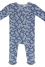 LUX LUX All Over Stars/Hearts Footie Pajamas