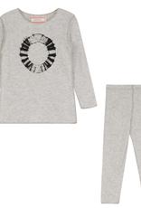 Hopscotch Hopscotch Ribbed TieDye Circle Pajamas