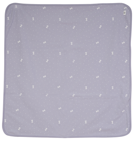 So Loved So Loved Dotted Bow Blanket