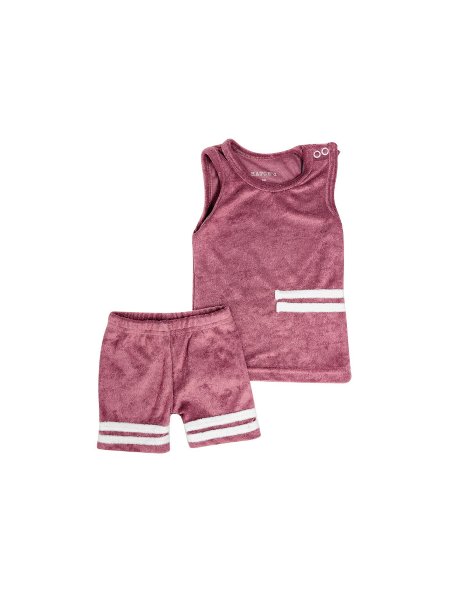 HATCH'd HATCH'D Sport Terry Set (Tank/Shorts)