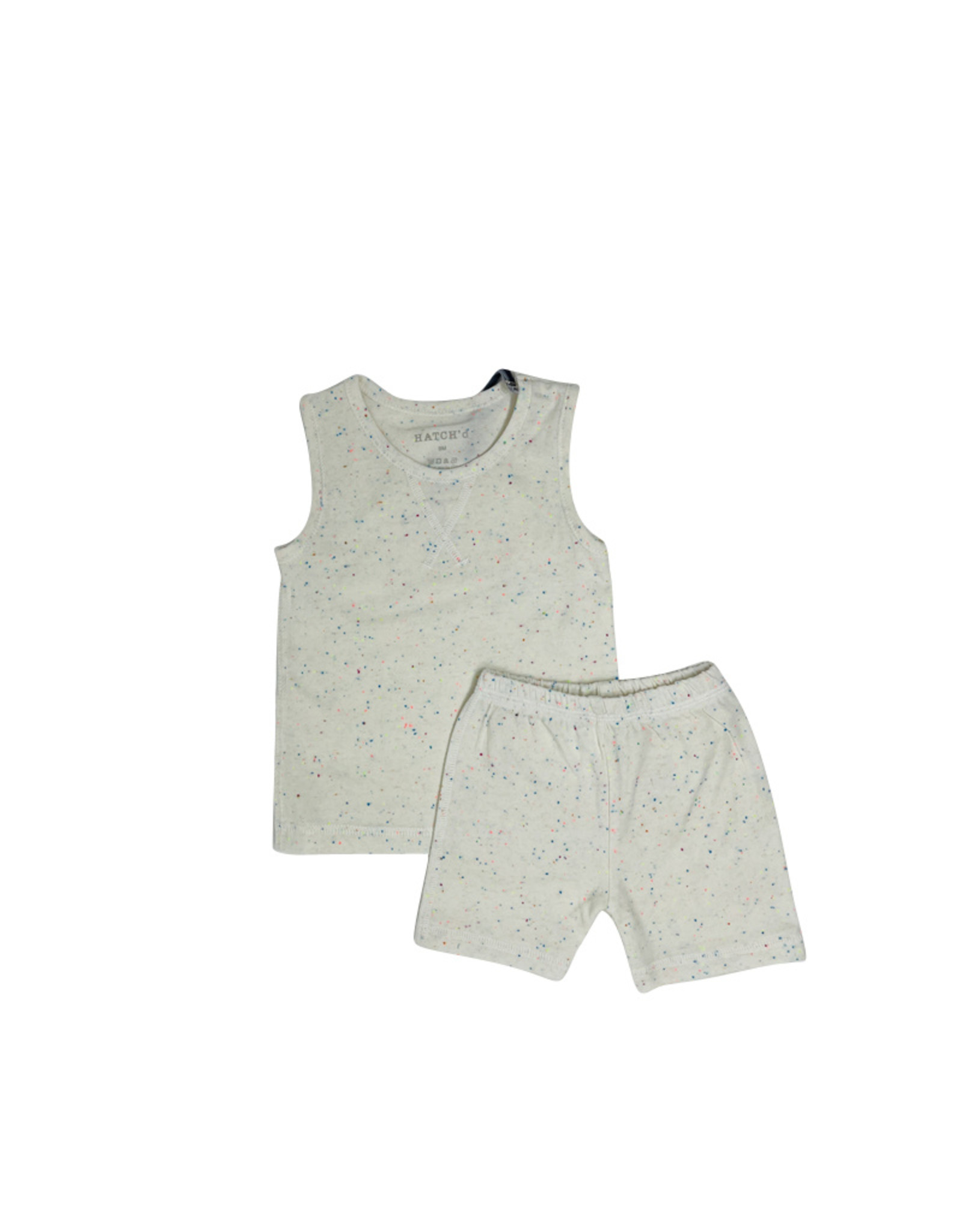 HATCH'd HATCH'D Speckled Set (Tank/Shorts)