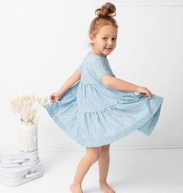 Milk Milk Tiered Full Circle Dress