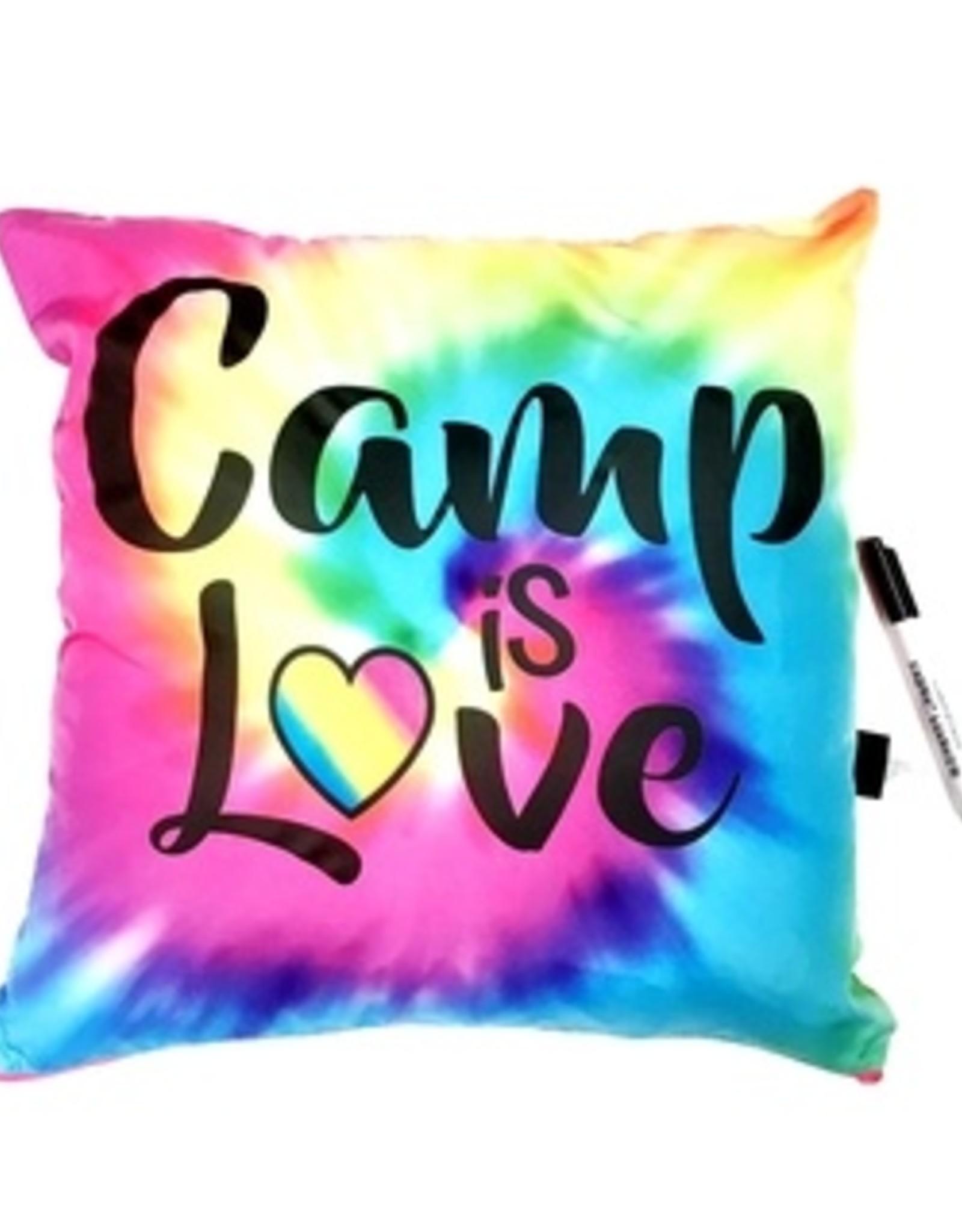 Bunk Junk Bunk Junk Camp is Love Autograph Pillow