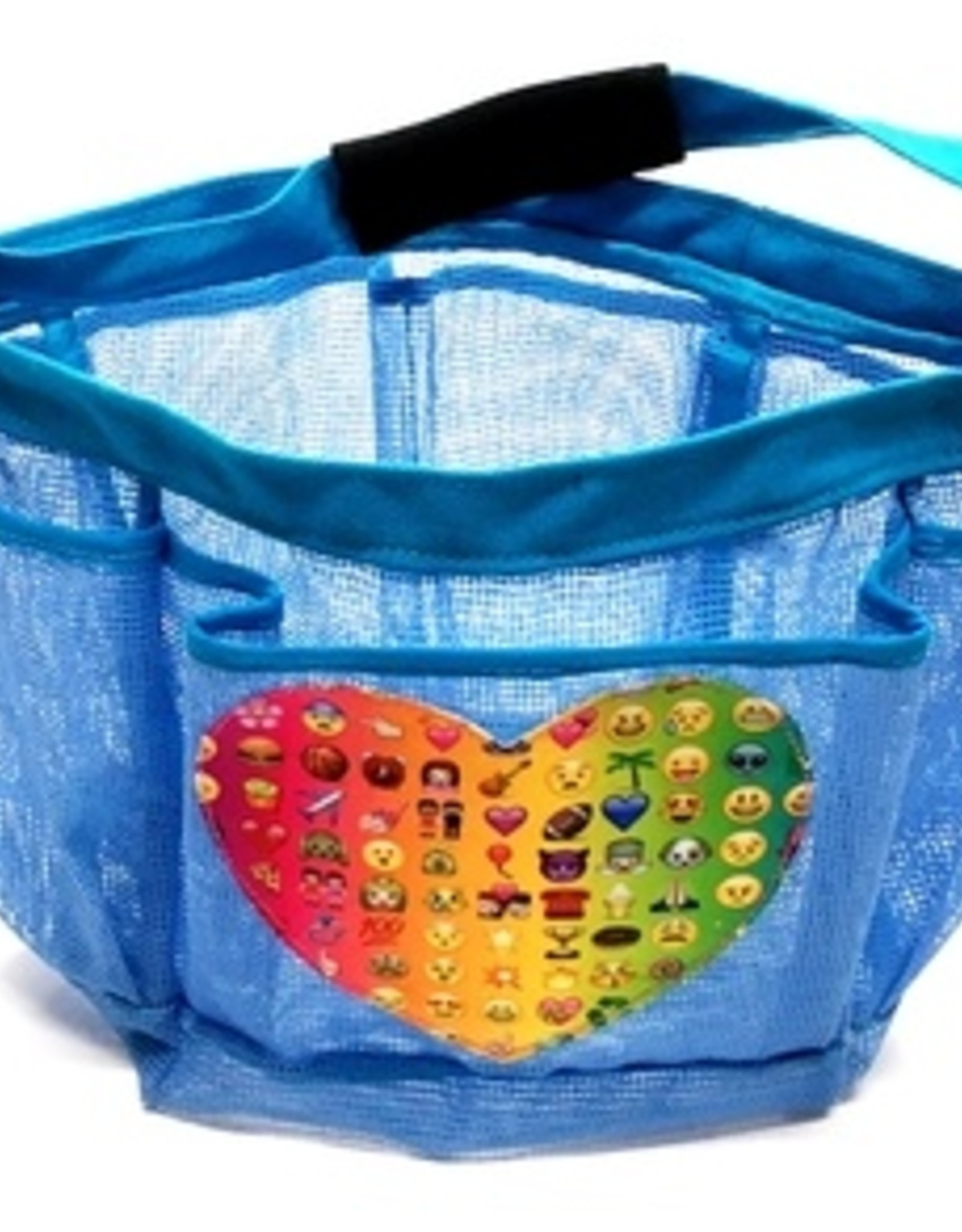 Bunk Junk Bunk Junk Multi Emoji Shower Caddy