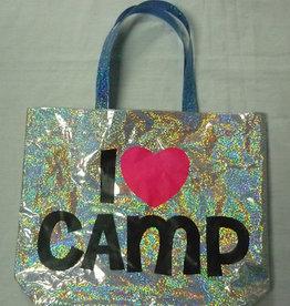 Bunk Junk Bunk Junk I Heart Camp Tote Bag