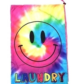 Bunk Junk Bunk Junk Rainbow TieDye Smile Laundry Bag