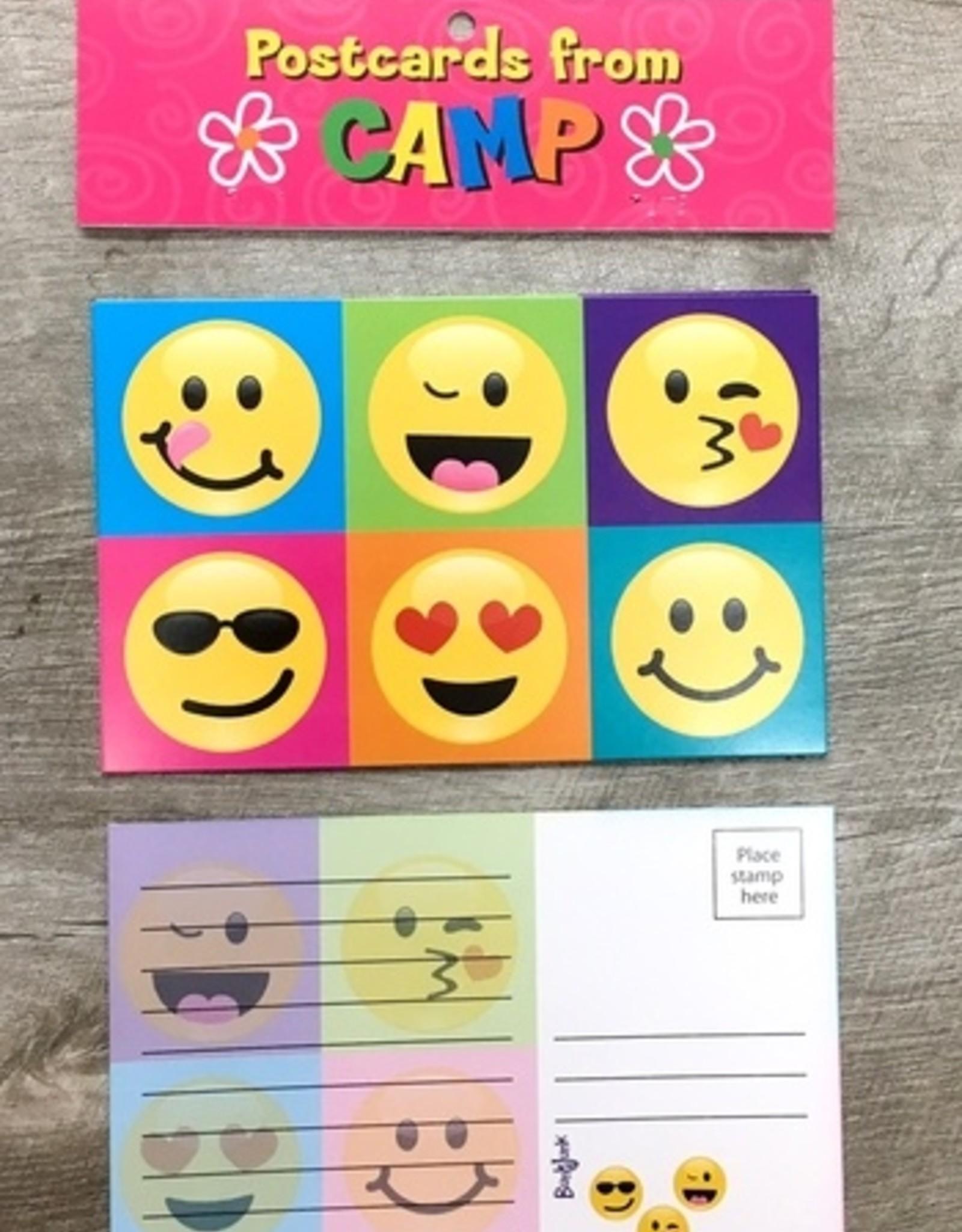 Bunk Junk Bunk Junk Emoji Colorblock Postcards