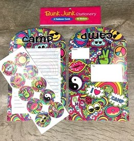 Bunk Junk Bunk Junk Paisley Stationery Set