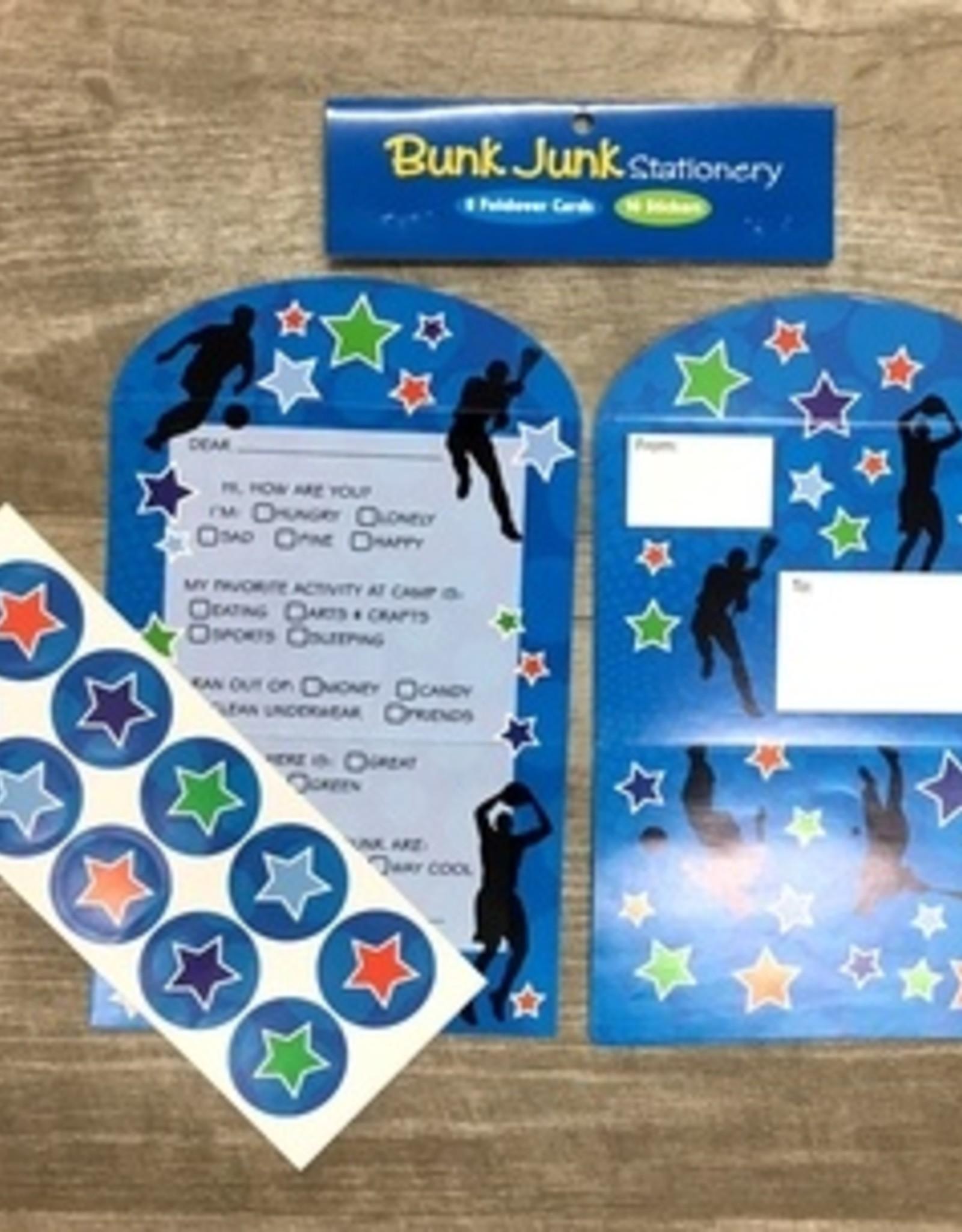 Bunk Junk Bunk Junk Sports Silhouette Stationery Set