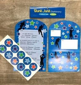 Bunk Junk Bunk Junk Sports Silhouette Stationery Set