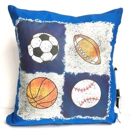 Bunk Junk Bunk Junk Quad Sports Autograph Pillow