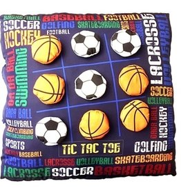 Bunk Junk Bunk Junk Sports Graffiti Tic Tac Toe Autograph Pillow