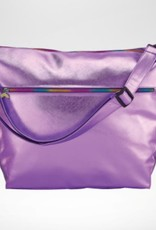 ISCREAM Iscream Metallic Weekender Bag with Rainbow Zipper