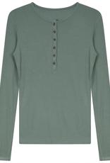 Riff Riff Ladies Ribbed Henley Tshirt