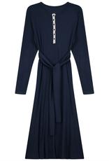 Riff Riff Ladies Ribbed Henley Dress