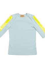 So What So What Tshirt with Reflective Stripes on Sleeves