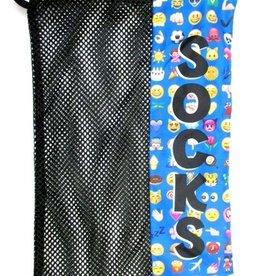 Bunk Junk Bunk Junk Multi Emoji Sock Bag