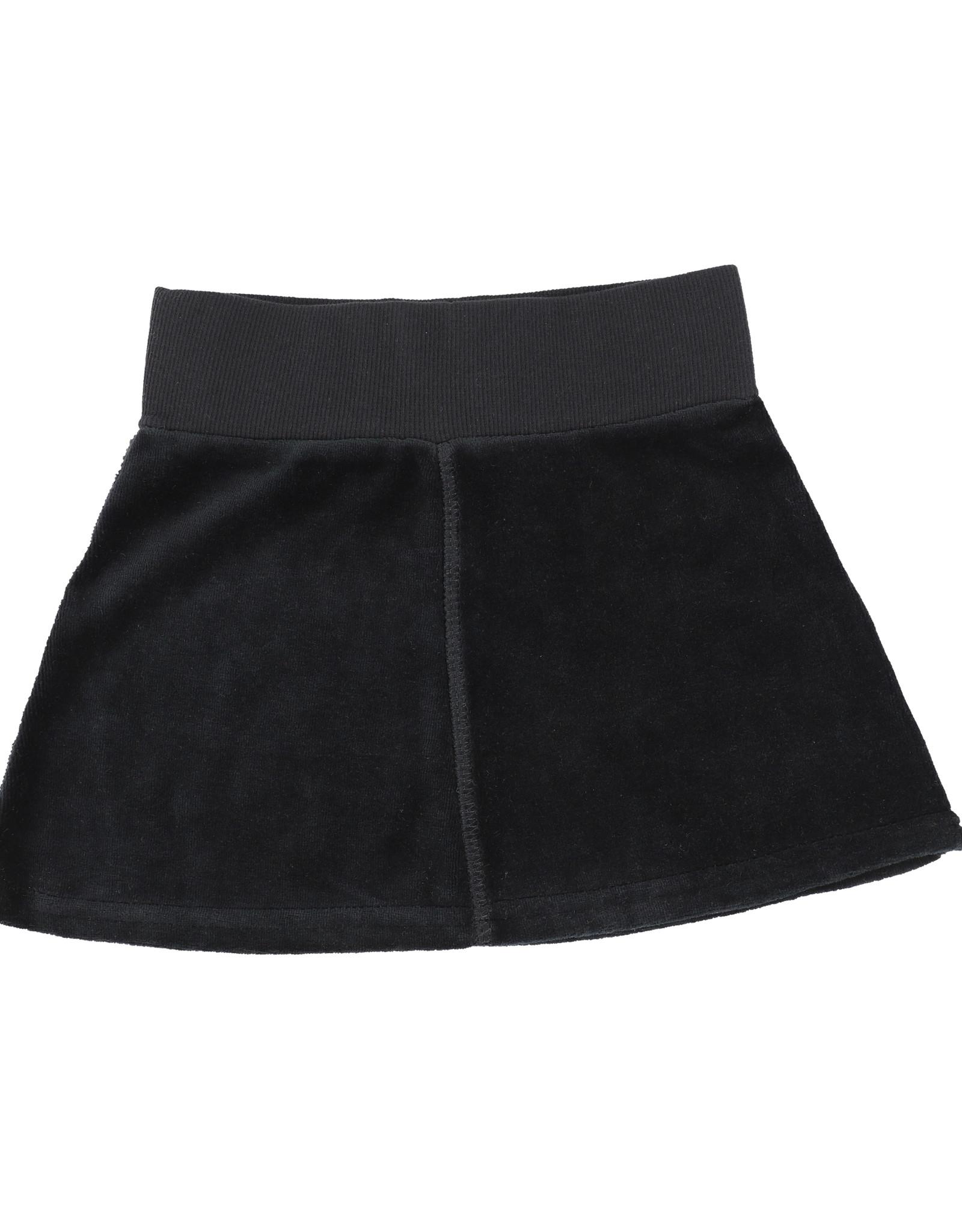 Analogie Analogie Velour Skirt
